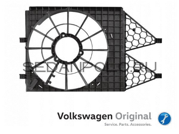 Диффузор радиатора VAG Оригинал Volkswagen Polo Sedan