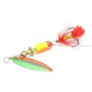 Блесна вращающаяся Sprut Oruto Spinner #2 / 7 гр / цвет: SOB
