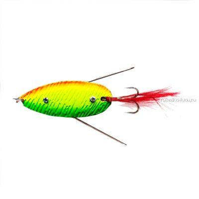 Блесна колеблющаяся Sprut Fugubiki Spoon 70мм / 23 гр / цвет: FTL