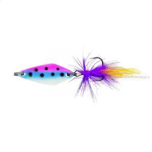 Блесна колеблющаяся Sprut Nabuki Micro Spoon 30мм / 3,7 гр / цвет: BPNW