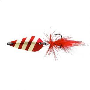 Блесна колеблющаяся Sprut Nabuki Micro Spoon 30мм / 3,7 гр / цвет: GR