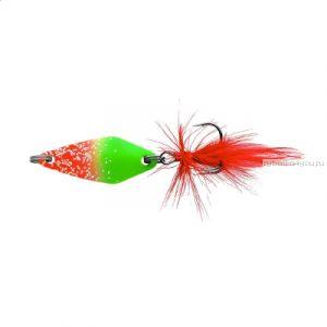 Блесна колеблющаяся Sprut Nabuki Micro Spoon 30мм / 3,7 гр / цвет: RGR