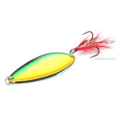 Блесна колеблющаяся Sprut Takobiki Spoon 68мм / 23 гр / цвет: FT