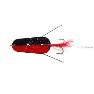 Блесна колеблющаяся Sprut Togiru Spoon 70мм / 30 гр / цвет: RBK