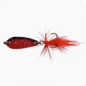Блесна колеблющаяся Sprut Yasuri Micro Spoon 30мм / 3,4 гр / цвет: RBK