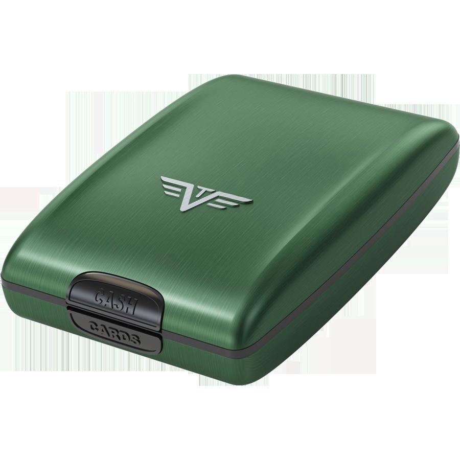Кошелек TRU VIRTU Oyster, зеленого цвета, 14.10.1.0001.13