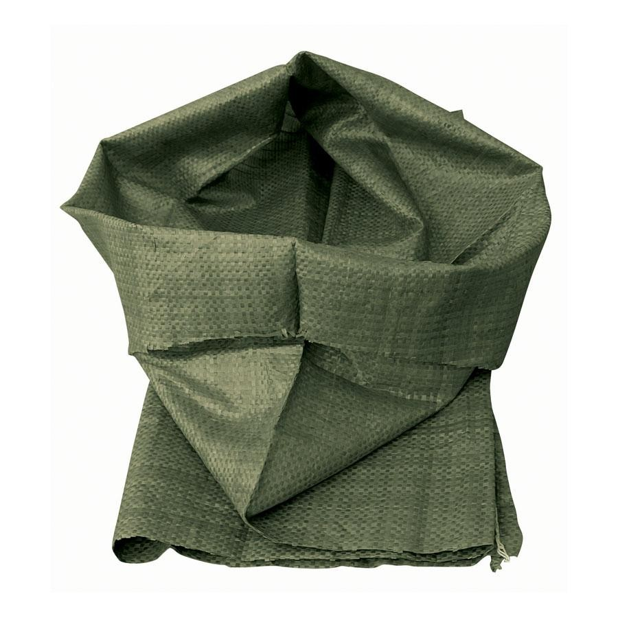 Зелёный полипропиленовый мешок для строительного мусора 90х130 см, 4 шт/уп