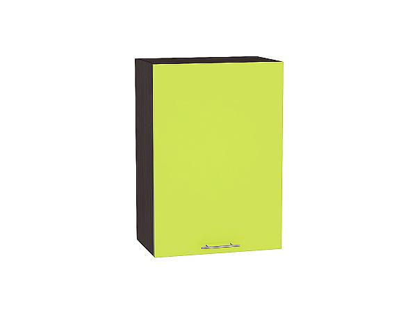 Шкаф верхний Валерия В600-Ф46 (лайм глянец)