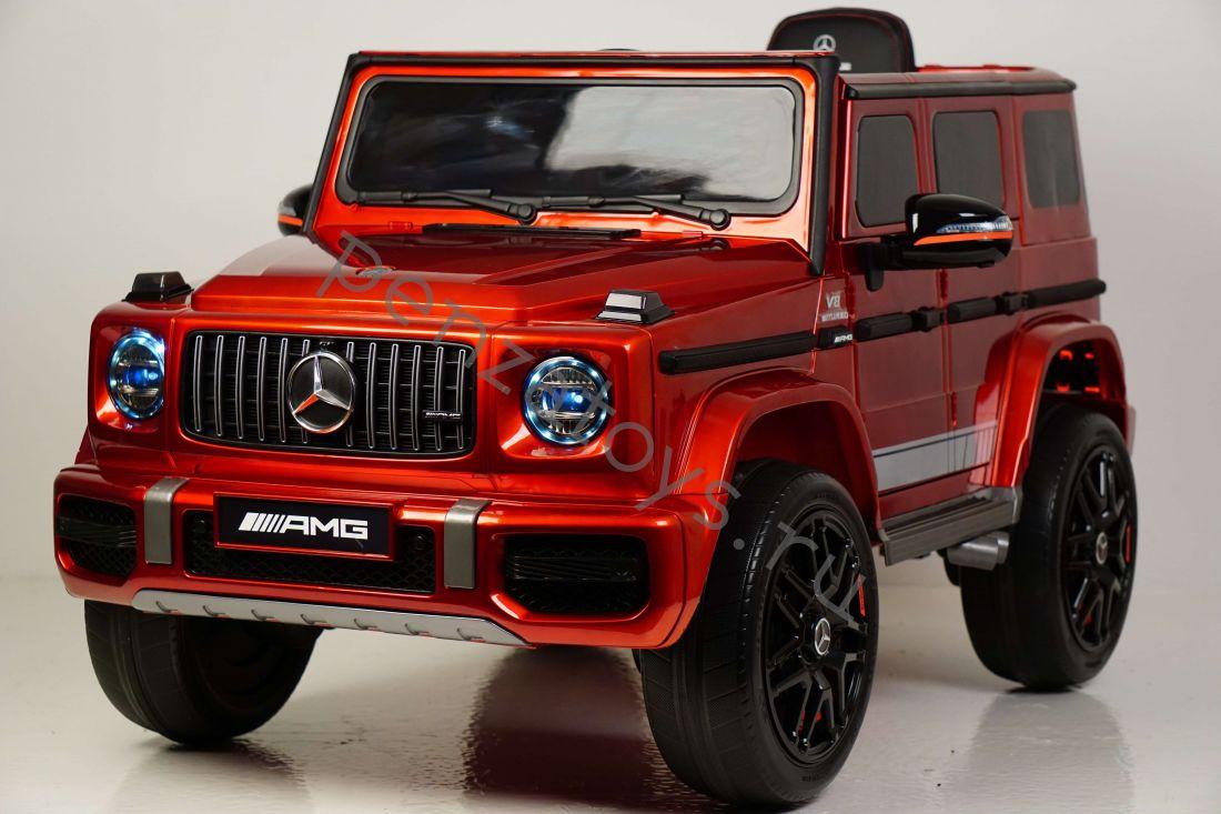 Электромобиль детский Mercedes-AMG G63 K999KK-4WD