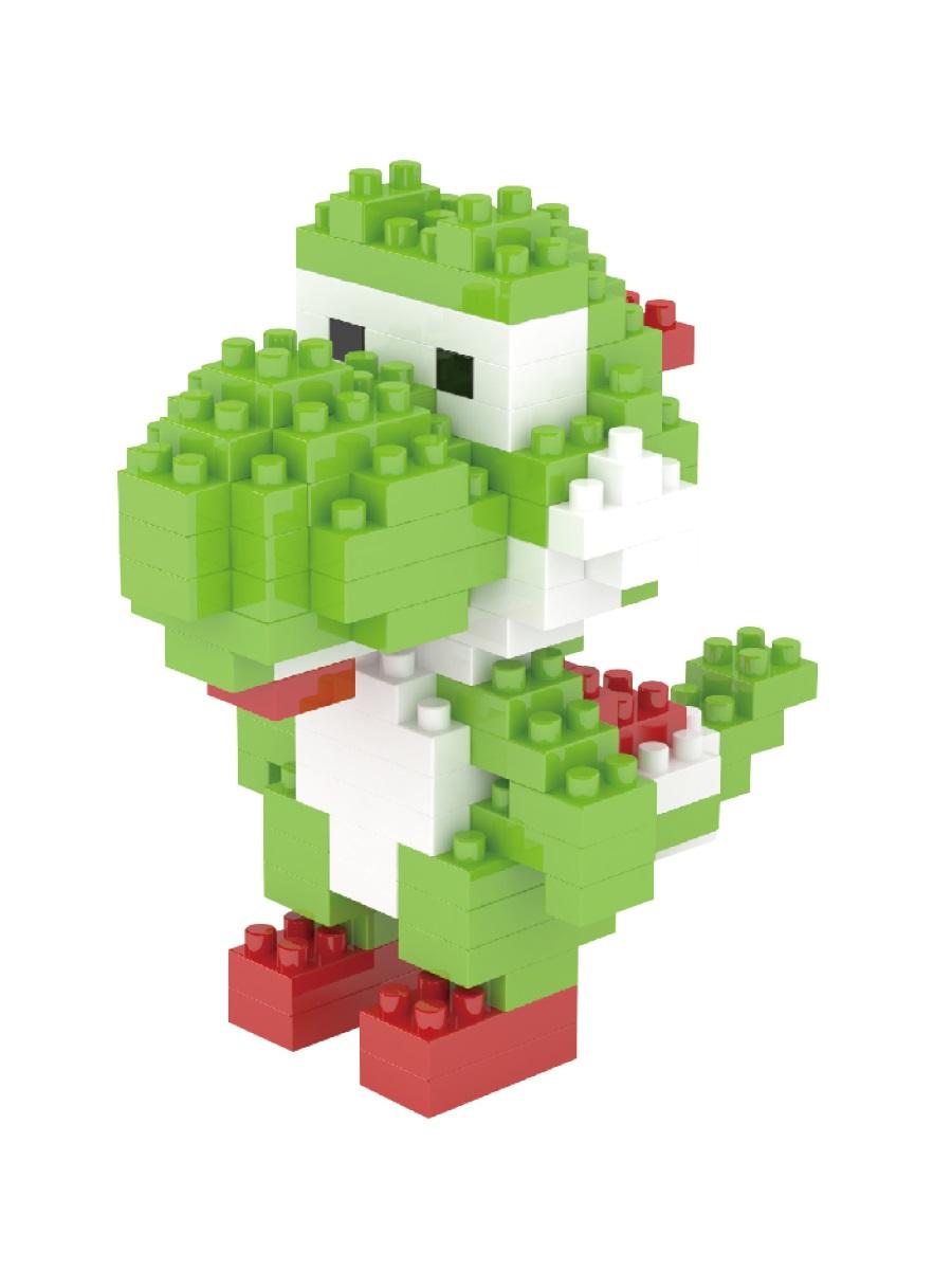 Конструктор Wisehawk & LNO Динозаврик Йоши 230 деталей NO. 004 Yoshi Gift Series