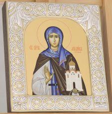 Икона Ангелина Сербская блаженная (9х10,5см)
