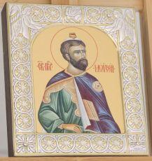 Икона Моисей пророк (9х10,5см)