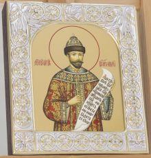 Икона Икона Николай 2 Романов cтрастотерпец  (9х10,5см)