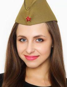 Пилотка победы военная со звездой  женская и подростковая
