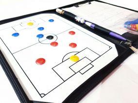 Тактическая доска-папка для футбола