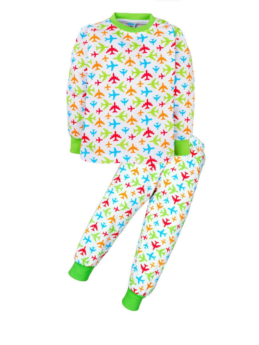 Пижама с начесом для мальчика Аэропорт