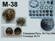 M-38. Русь 10-11 век