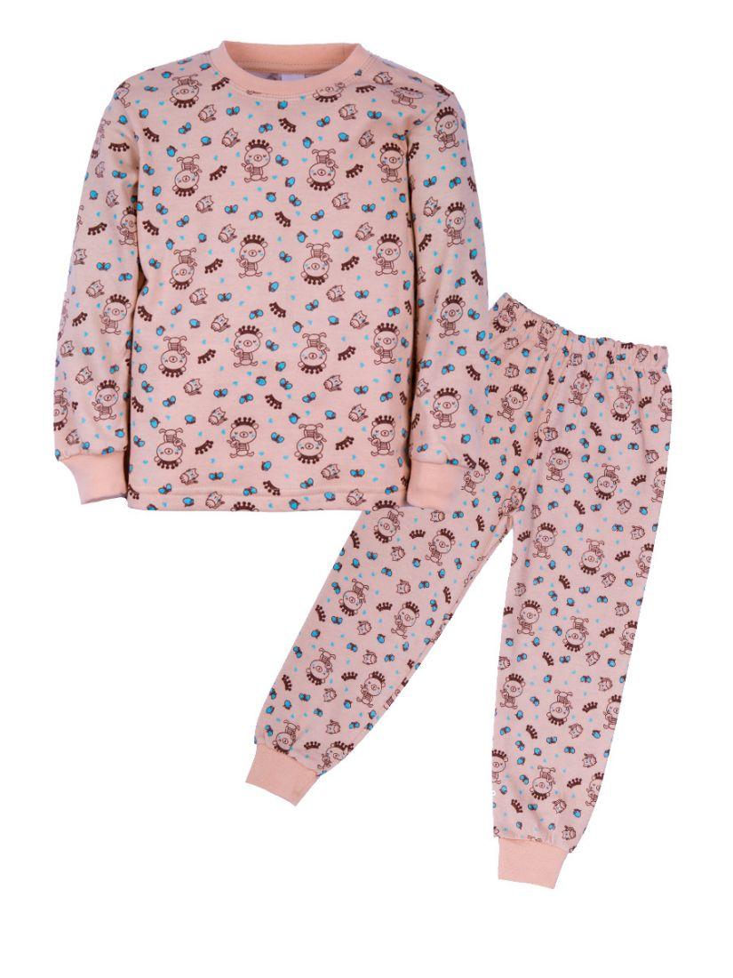 Пижама с начесом Любимые игрушки