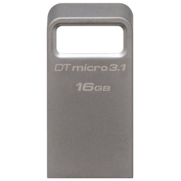 16GB USB3.0-накопитель Kingston DT Micro 3.1 миниатюрный металлический