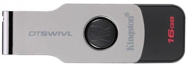 16GB USB3.0 накопитель Kingston DTSWIVL раскладной