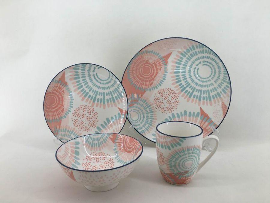 """Чайно-столовый набор на 4 персоны """"Эстель"""", 16 пр."""
