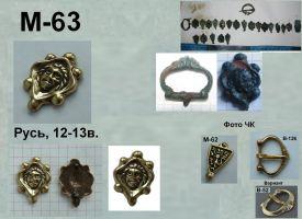 M-63. Русь 12-13 век
