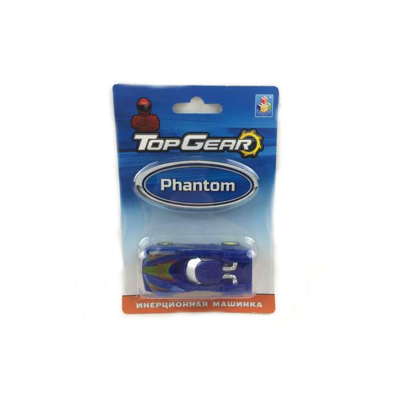 1toy Top Gear Пластмассовая инерционная машинка Phantom, блистер