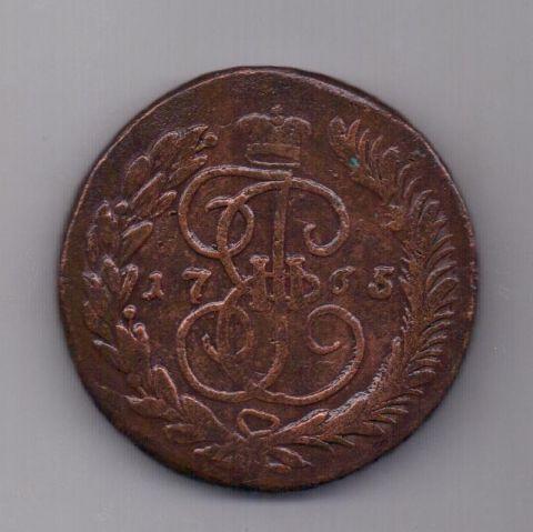 5 копеек 1765 года ММ
