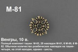 M-81. Венгры 10 век