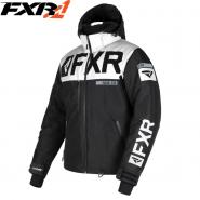 Куртка FXR Helium-X - Black/White мод. 2019
