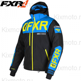 Куртка FXR Helium-X - Black/Blue мод. 2019