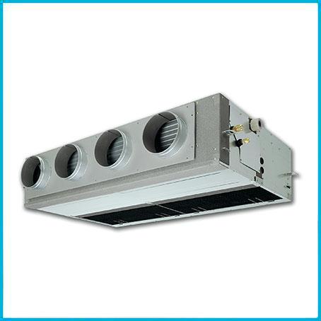 Монтаж канального кондиционера 5-7 кВт
