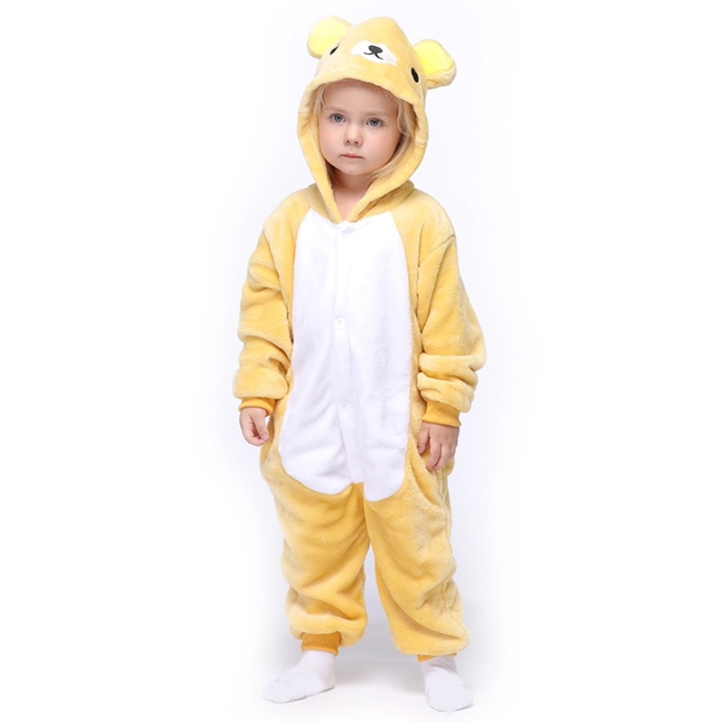 Детская Пижама Кигуруми Медведь Рилаккума