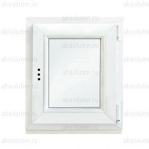 Пластиковое окно 600х600 (поворотно-откидное)