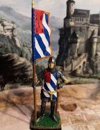 Жан де Монтагю, сэр Сомбернон. Бургундия, 14 век. Оловянная. Роспись. Авторская работа