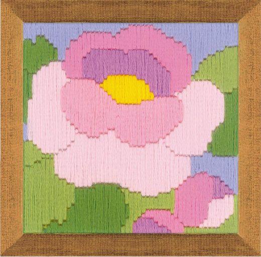 Набор для вышивания крестом Пион №1634 фирма Риолис