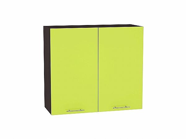 Шкаф верхний Валерия В800 (лайм глянец)