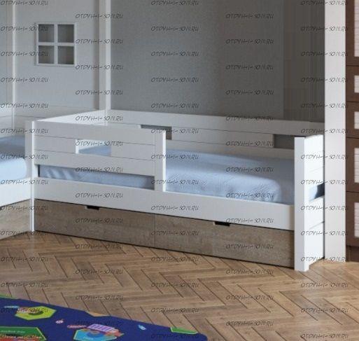 Кровать Сиэтл №3 массив, Любые размеры