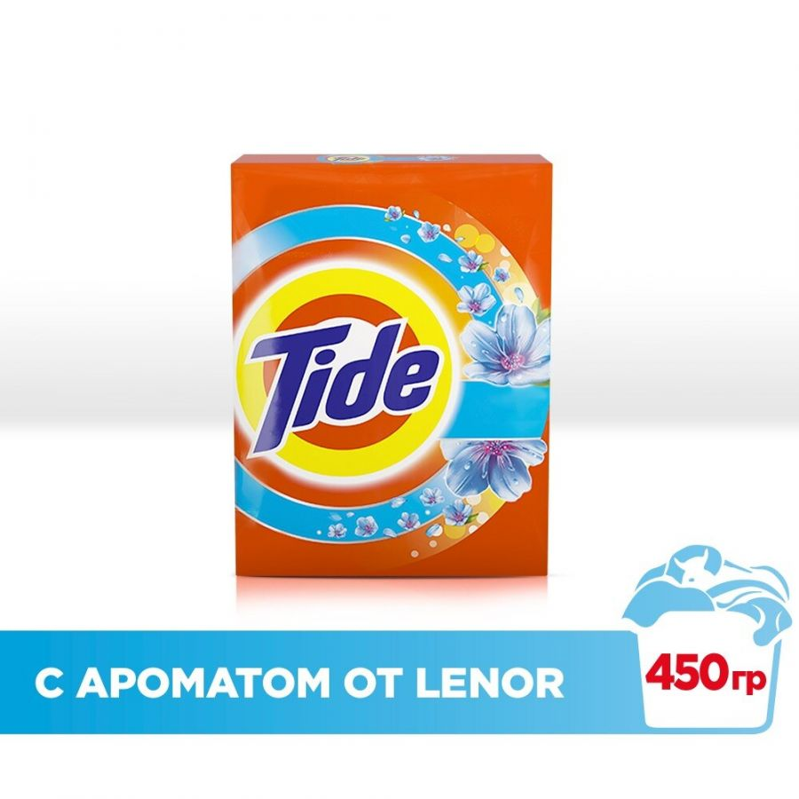"""TIDE """"Lenor touch of scent"""" 450гр."""