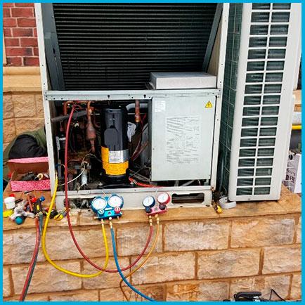 Замена компрессора от 12 кВт