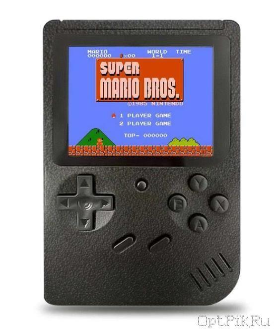 Игровая приставка карманная Денди SUP Gamebox Plus 400 в 1