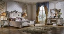 Спальня TIFFANY ART из 6 элементов (160*200, шкаф 3-дверный)