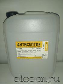 Антисептик для рук на основе изопропилового спирта (канистра 5л)