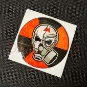 Объемная наклейка Бандиты Метро 2033