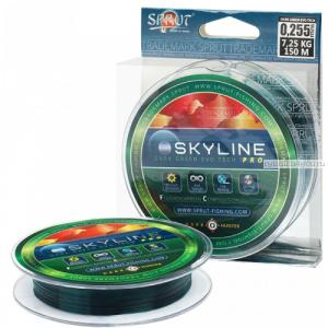 Флюорокарбоновая леска Sprut Skyline Evo Tech Pro 150 м / цвет: Dark Green