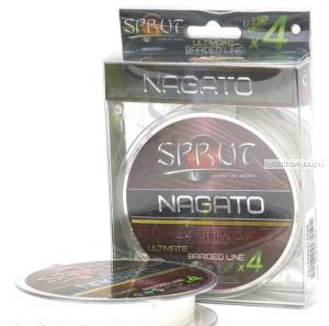Шнур плетеный Sprut Nagato Hard Ultimate Braided Line x4 95 м / цвет: Crystal White