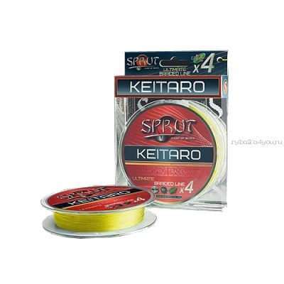 Шнур плетеный Sprut Nagato Hard Ultimate Braided Line x4 140 м / цвет: Fluo Yellow