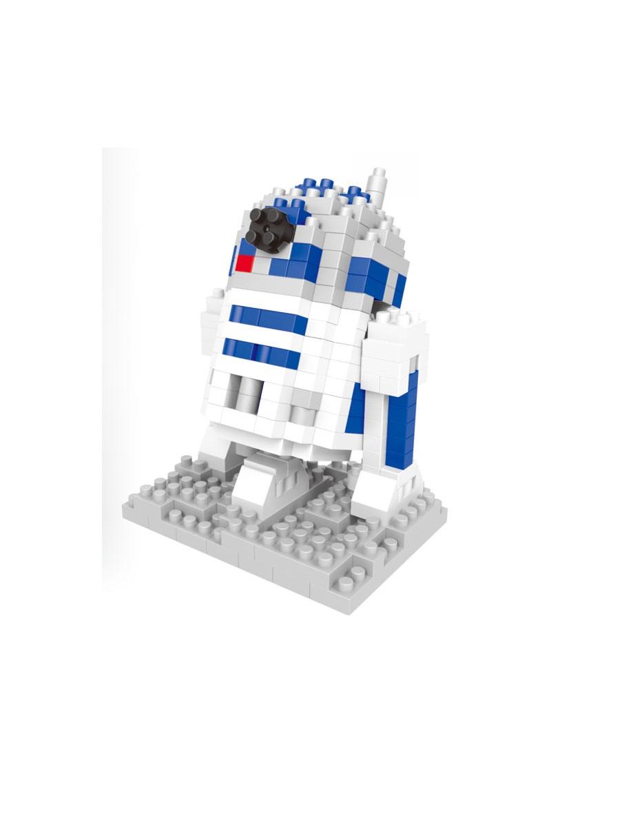 Конструктор Wisehawk & LNO дроид-астромеханик R2-D2 227 деталей NO. 049 R2-D2 Gift Series