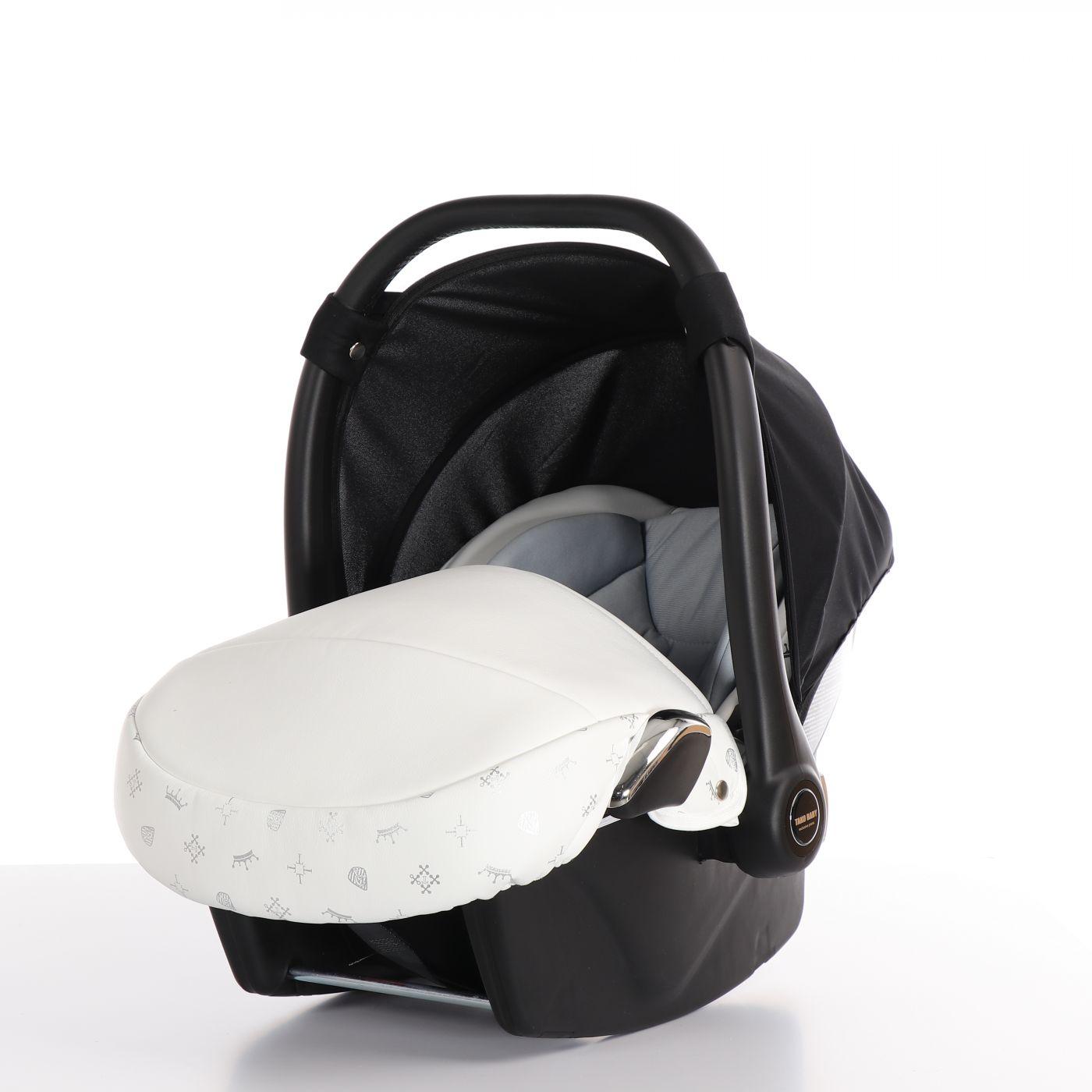 Автокресло TAKO LARET IMPERIAL (Ткань/кожа) белый (ATLI-01)