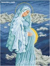 БУДМ БС Солес. Богомладенец в Утробе Девы Марии. А3 (набор 2300 рублей)